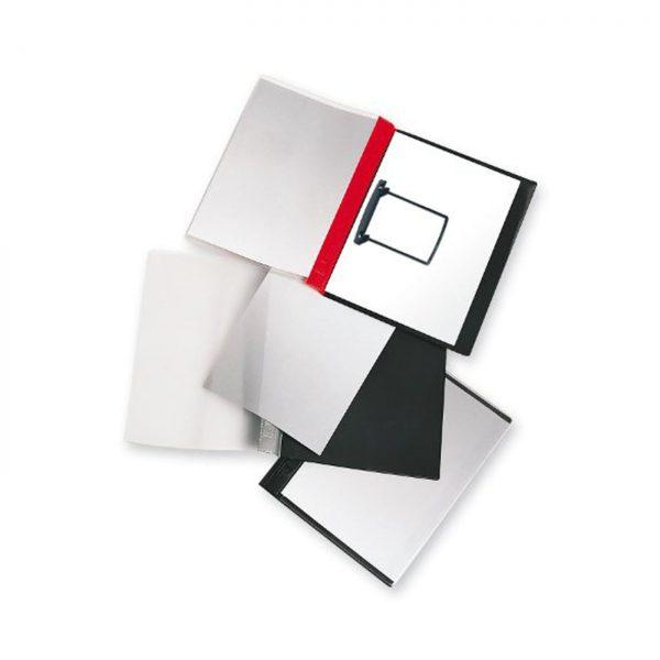 Dosar plastic cu alonja JALEMA Clip, buzunar de prezentare pe coperta, JALEMA Report file