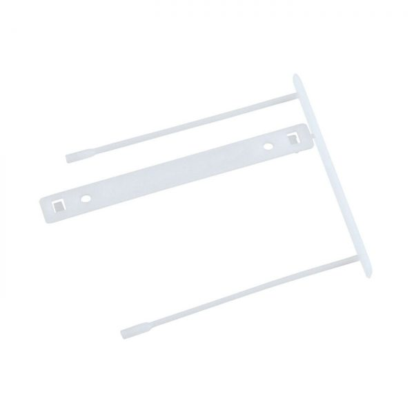 Alonja de mare capacitate, pentru arhivare, plastic, 100buc/set, Q-Connect Z-Clip - alba