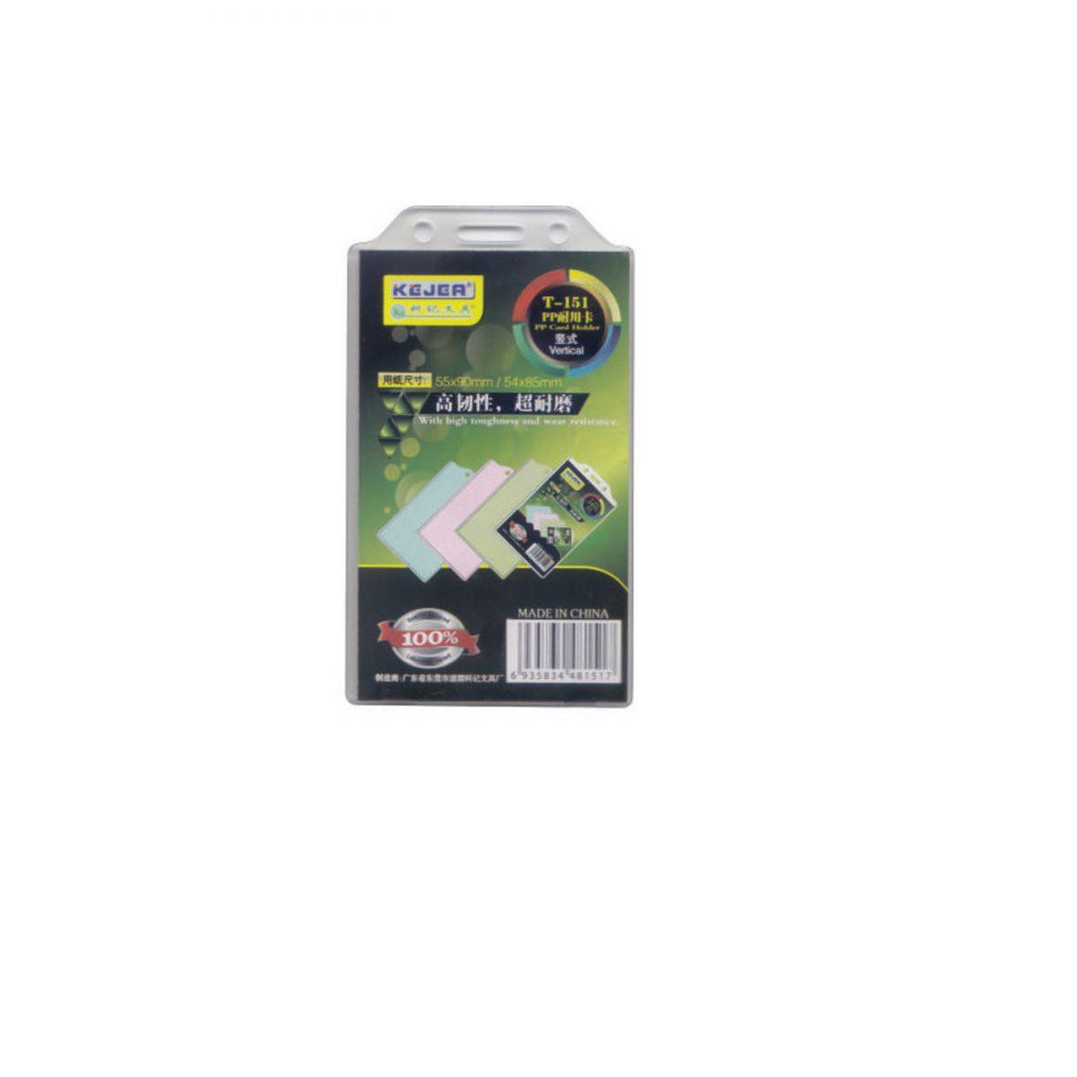 Suport carduri vertical, 55x90 mm KEJEA T-151V, 10 buc/set