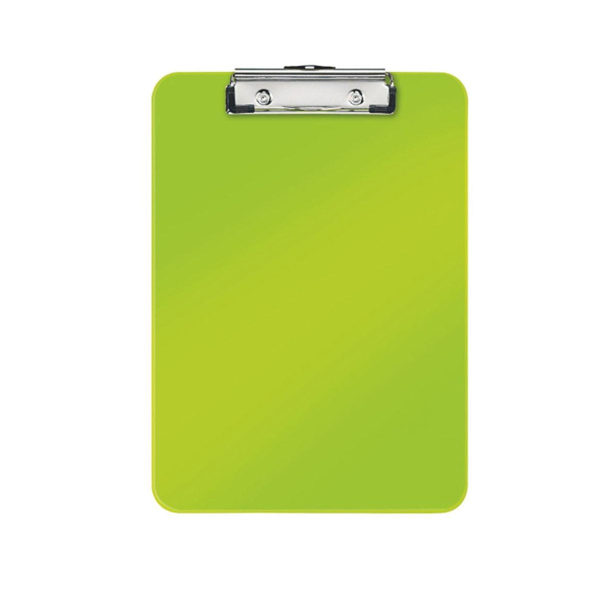Clipboard simplu LEITZ Wow, PS - verde metalizat
