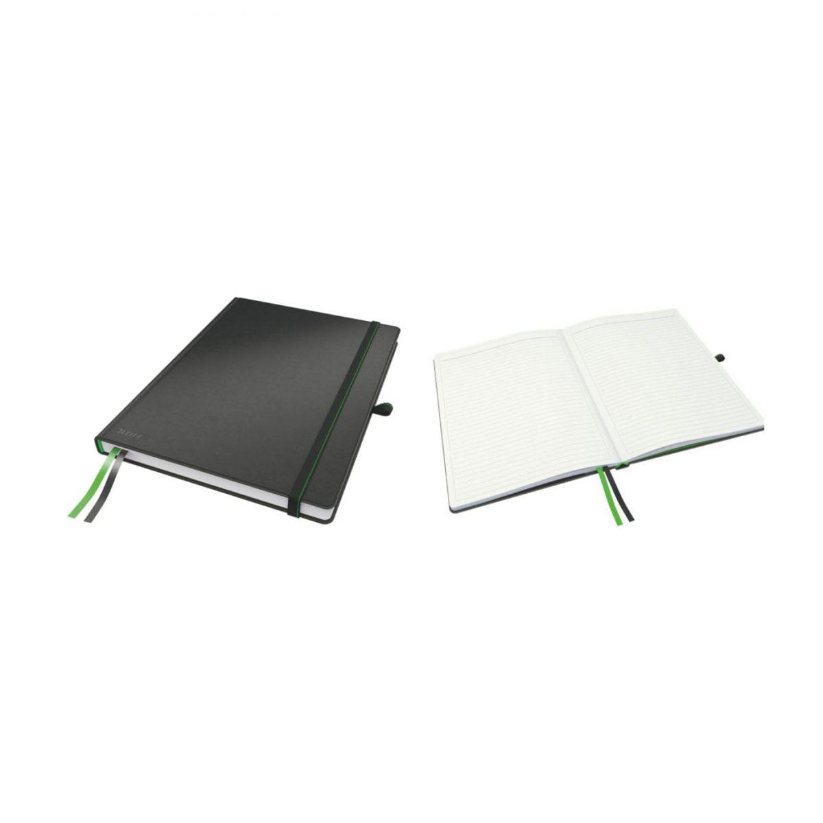 Caiet de birou LEITZ Complete, A4, dictando - negru