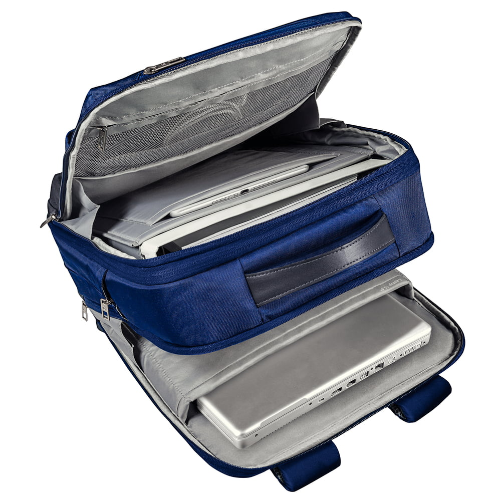 Rucsac LEITZ Complete pentru Laptop 15,6 inch Smart Traveller - albastru/violet