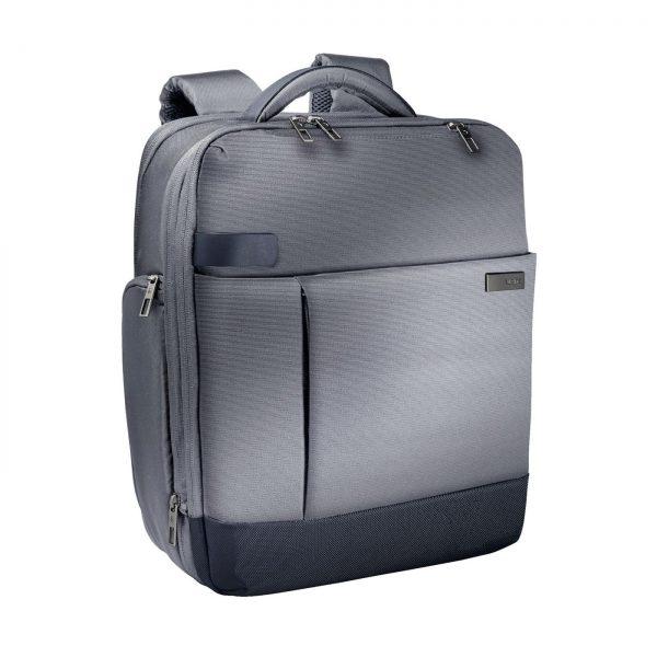 Rucsac LEITZ Complete pentru Laptop 15,6 inch Smart Traveller - argintiu