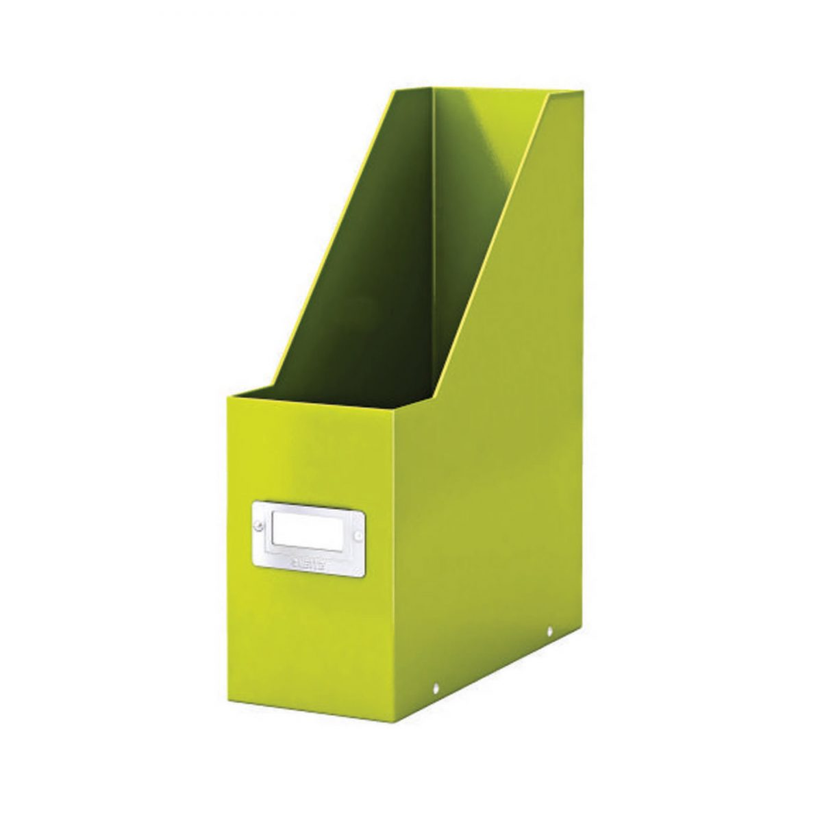 Suport vertical LEITZ Click & Store pentru documente, carton laminat - verde