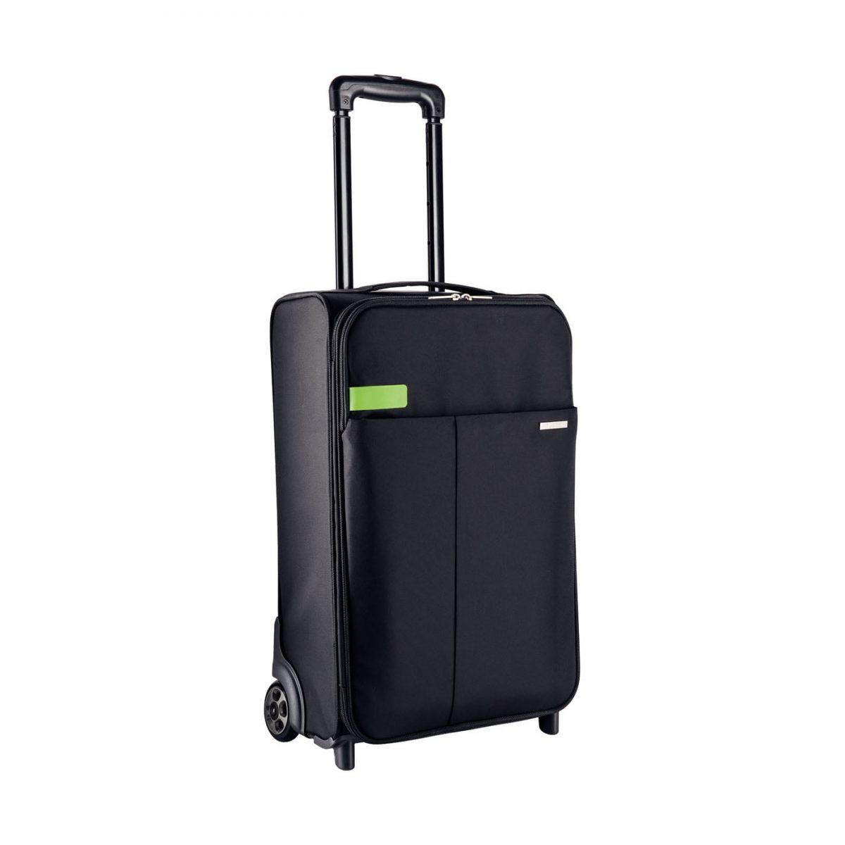 Geanta LEITZ Complete de mana cu 2 rotile Smart Traveller - negru