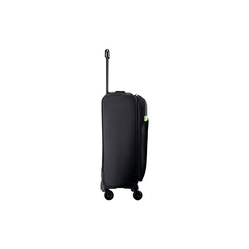 Troller LEITZ Complete Smart Traveller, cu 4 rotile - negru