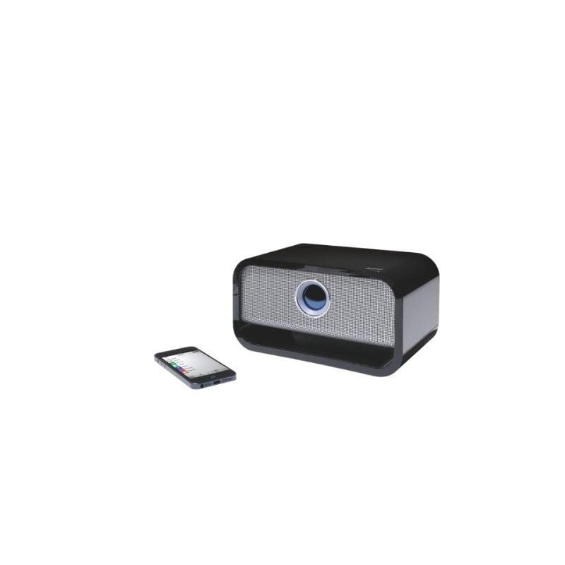 Difuzor stereo profesional LEITZ Complete, cu Bluetooth - negru