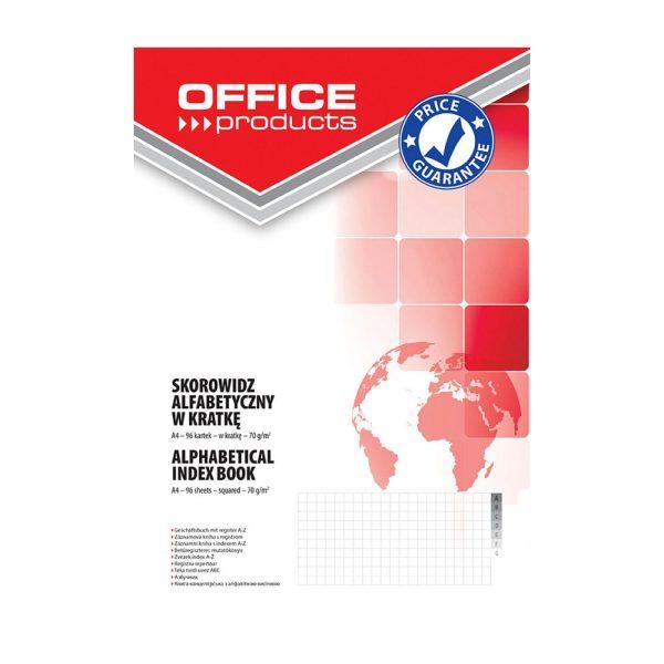 Repertoar cartonat A4 96 file 70g/mp, coperti carton rigid, Office Products - matematica
