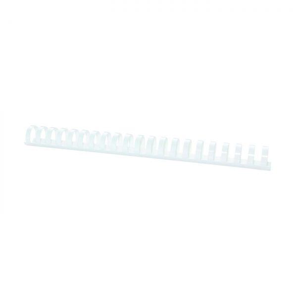 Inele plastic 25 mm, max 240 coli, 50buc/cut Fellowes