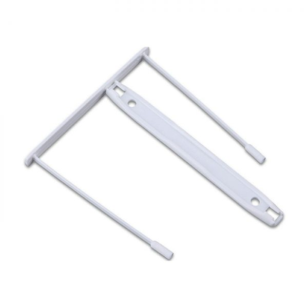 Alonja de mare capacitate, pentru arhivare, plastic, 100buc/set, Office Products Z-Clip - alba
