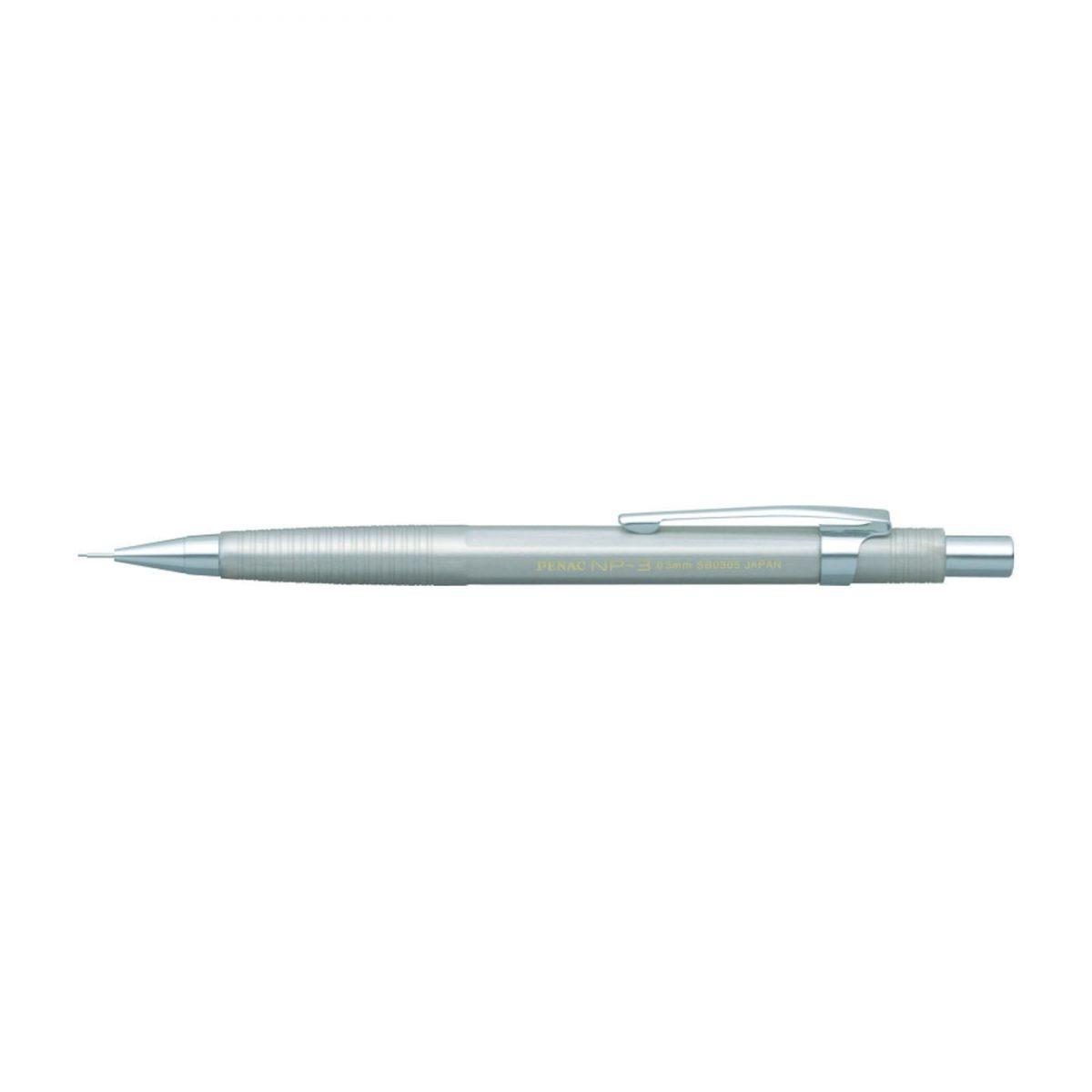 Creion mecanic profesional PENAC NP-3, 0.3mm, con metalic cu varf cilindric fix