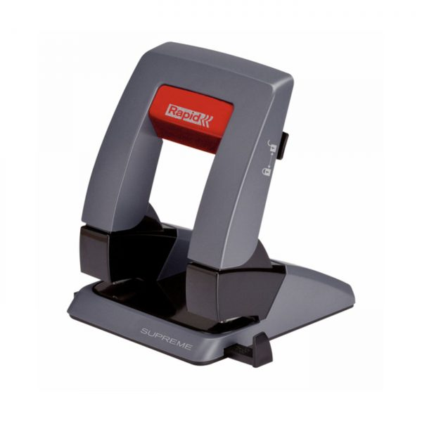 Perforator plastic RAPID Supreme SP30 PressLess, 30 coli