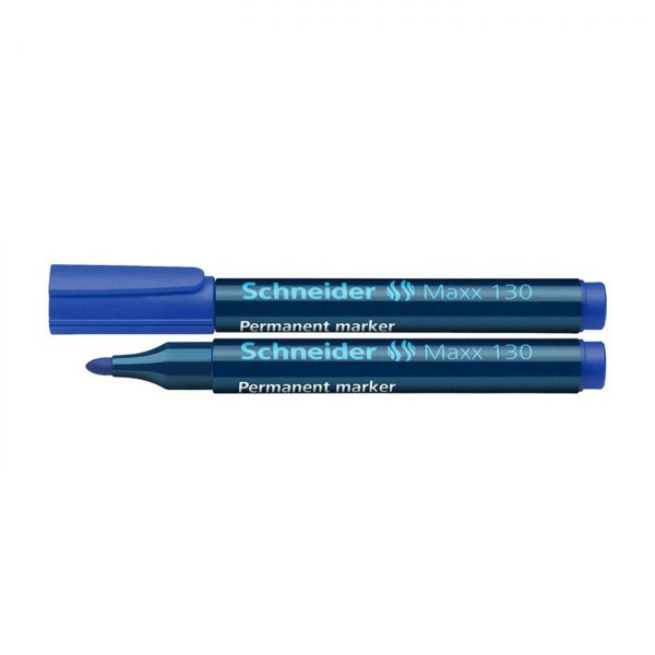 Marker permanent Schneider Maxx 130, varf rotund 1-3mm