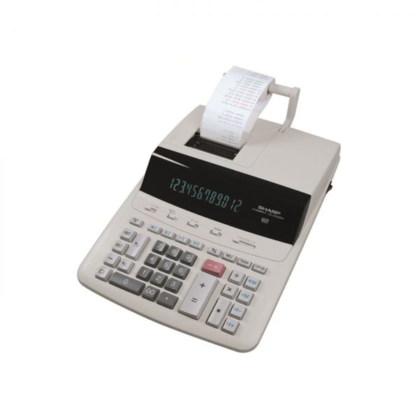 Calculator cu banda, 12 digits, 345 x 250 x 87 mm, SHARP CS-2635RHGYSE - gri