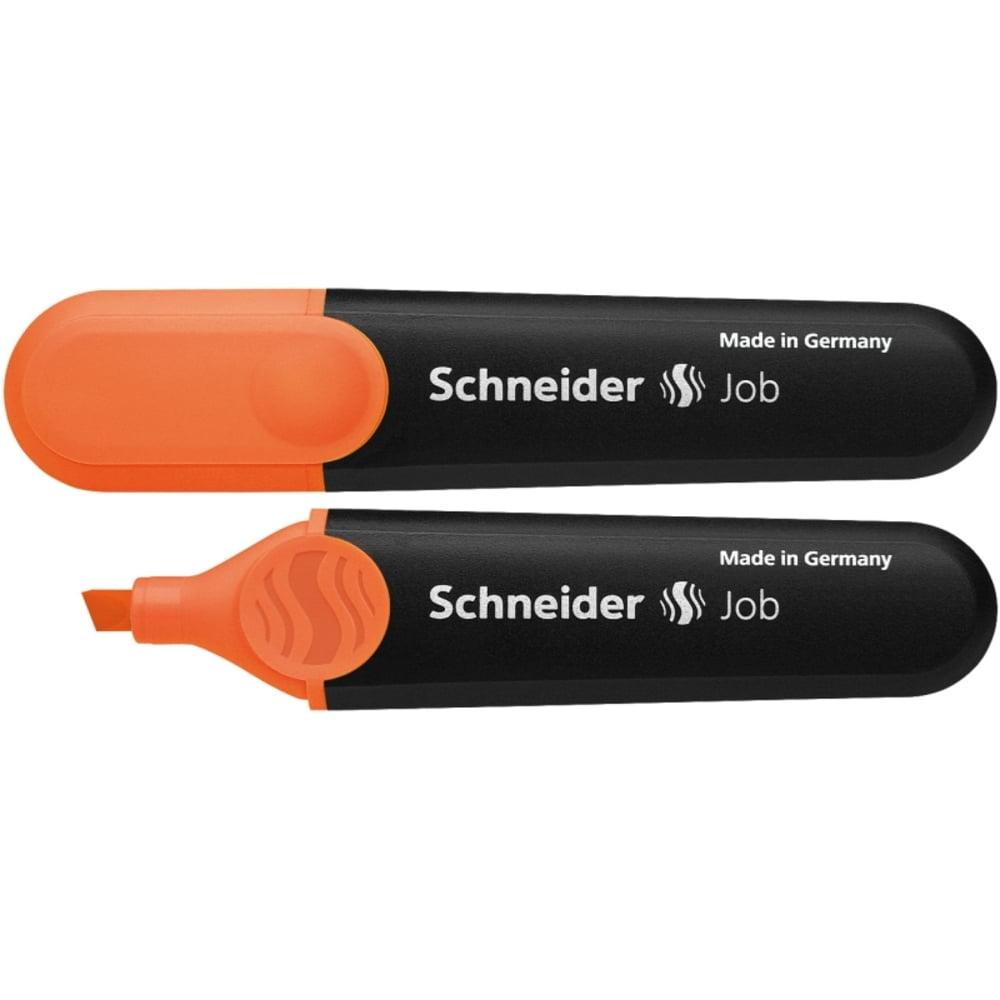 Textmarker SCHNEIDER Job, varf tesit 1+5mm - orange