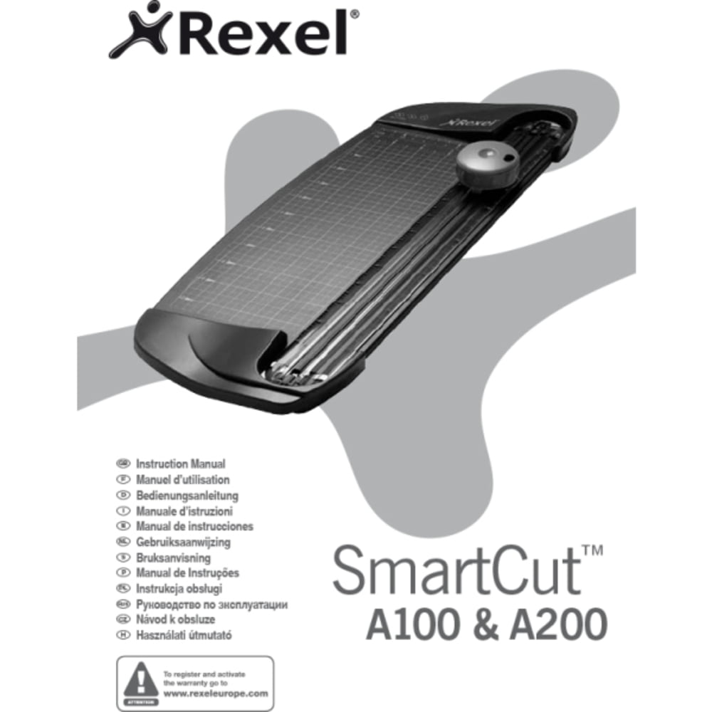 Trimmer A4 REXEL SmartCut A100