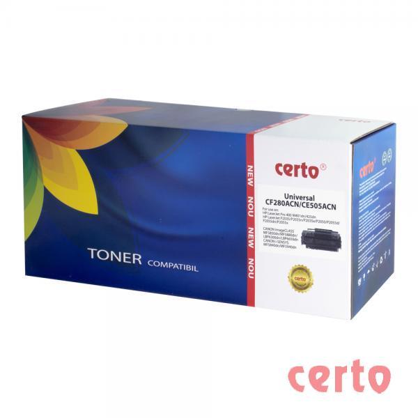Toner compatibil CERTO NEW CF280A/CE505A UNIV 2,7K HP LASERJET PRO 400 M401A