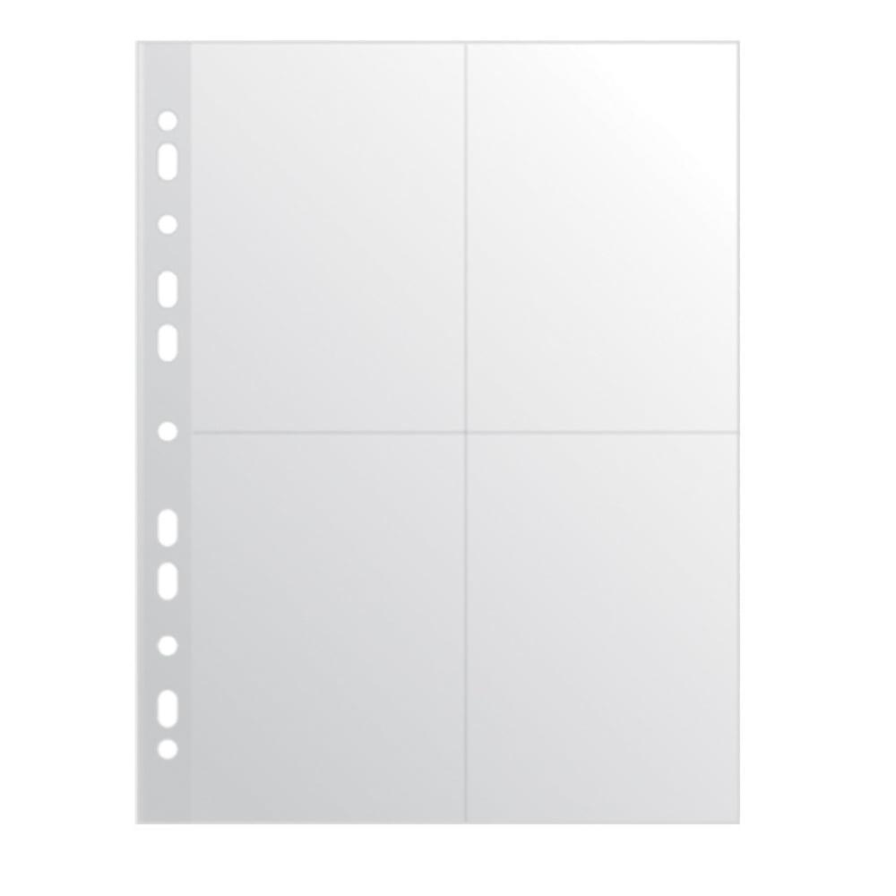 File din plastic A4, pentru 8 fotografii, 10buc/set, DONAU