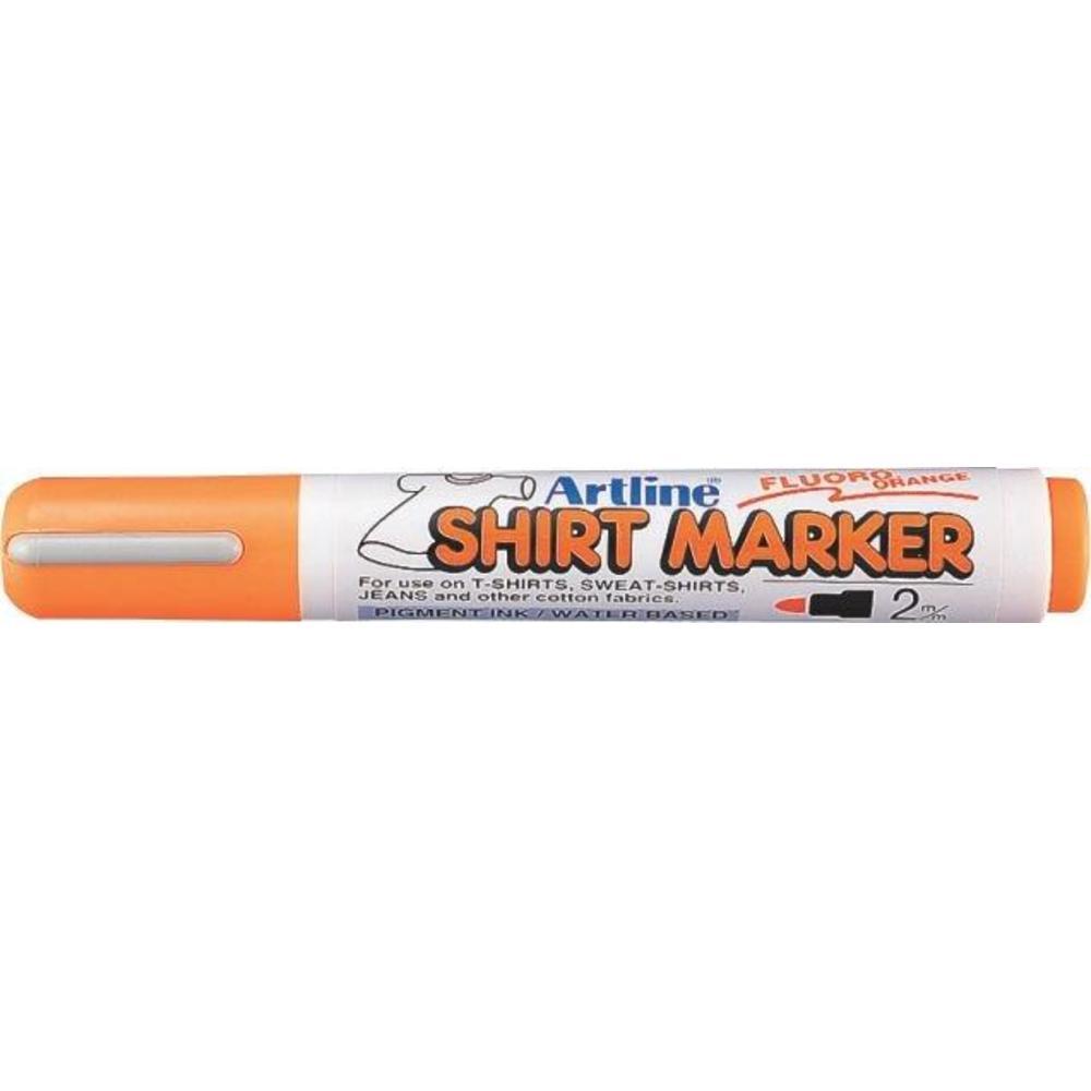 Marker pentru textile ARTLINE T-Shirt - portocaliu fluorescent