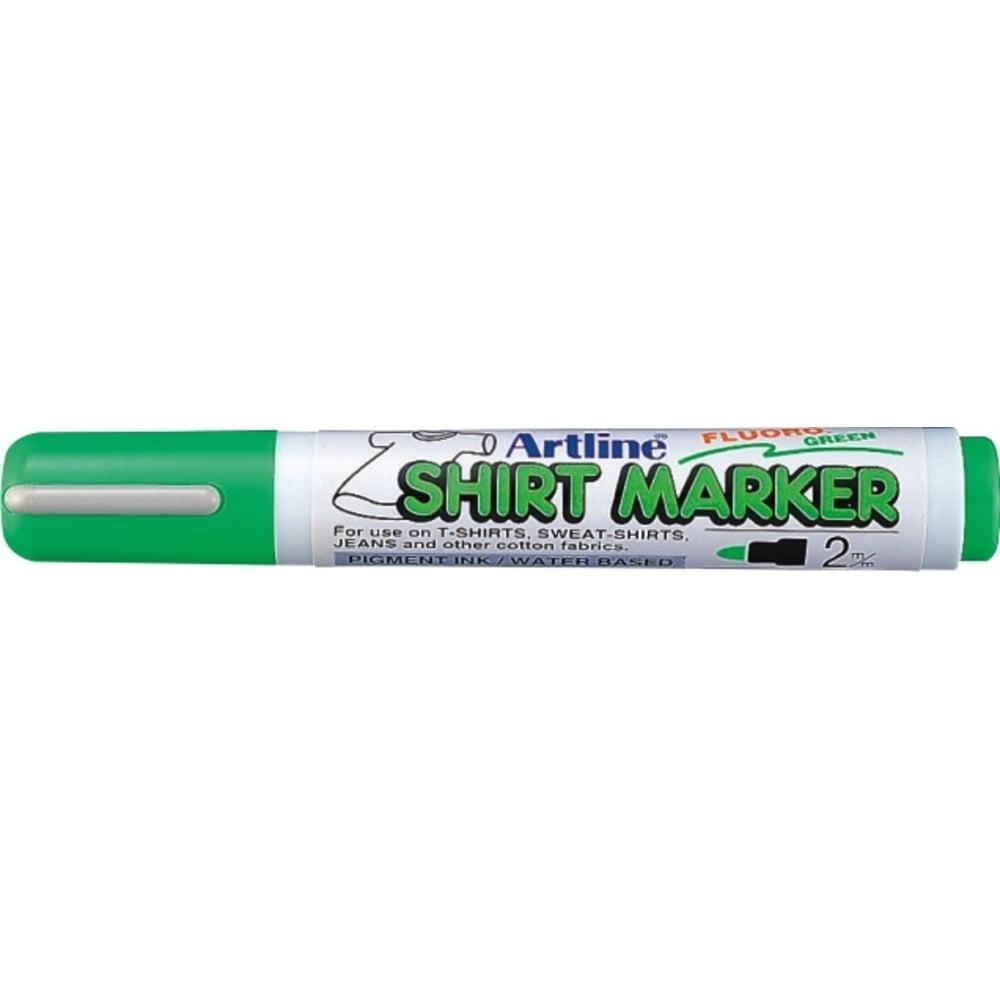 Marker pentru textile ARTLINE T-Shirt - verde fluorescent