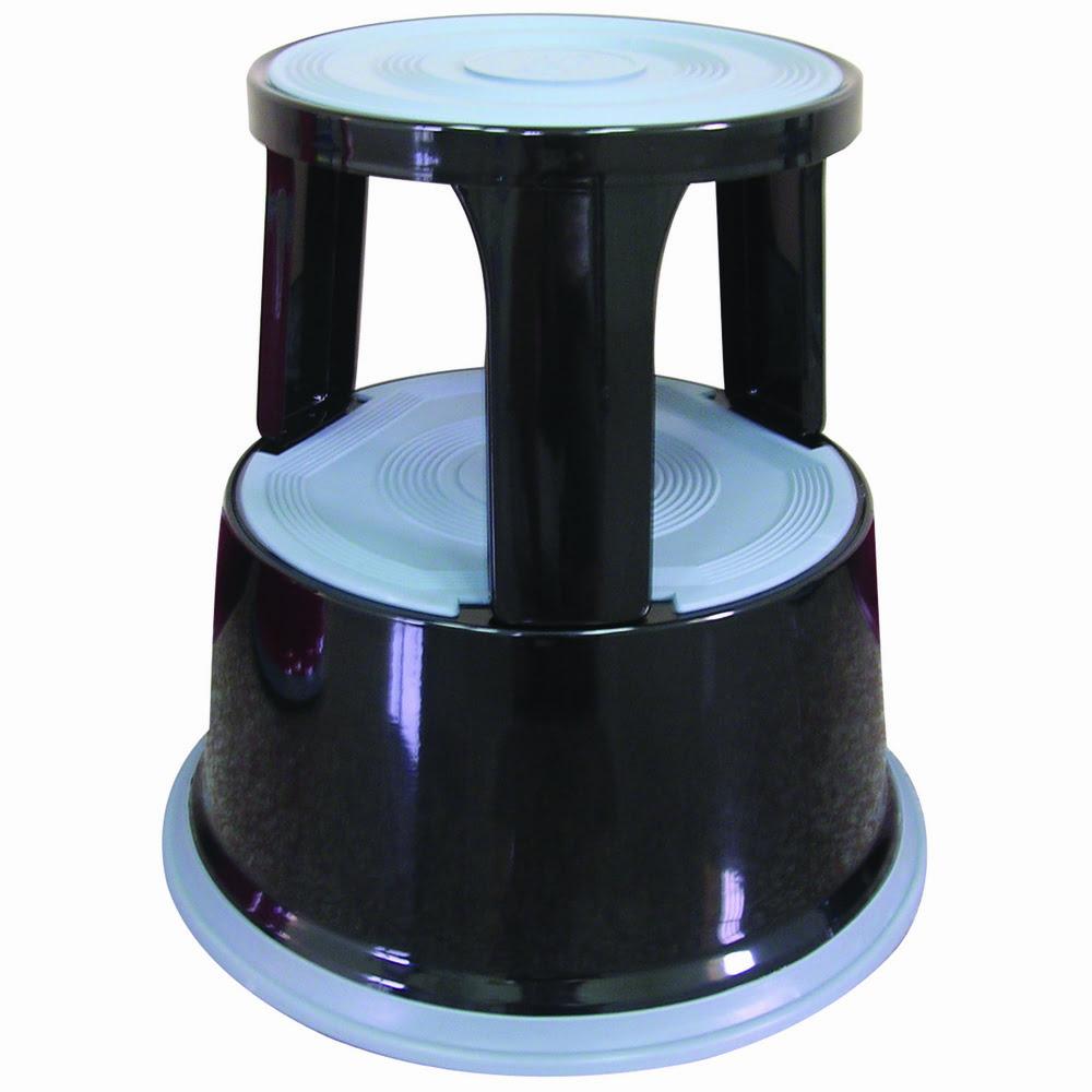 Taburet metalic pentru rafturi inalte, Q-Connect