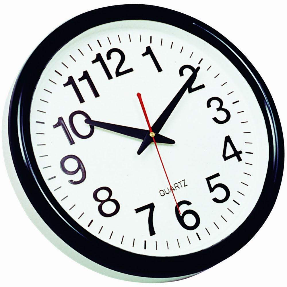 Ceas de perete, D-28 cm, cifre arabe, Q-Connect Tokyo
