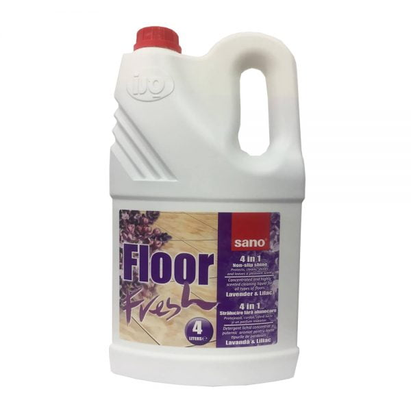 Detergent pardoseli Sano Floor Fresh, liliac, 4l
