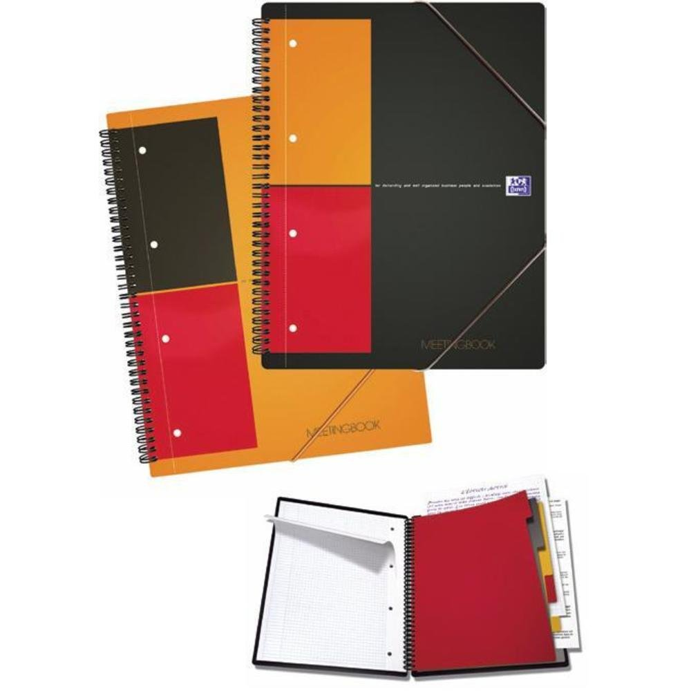 Caiet cu spirala A5, 80 file OXFORD International Meetingbook - matematica