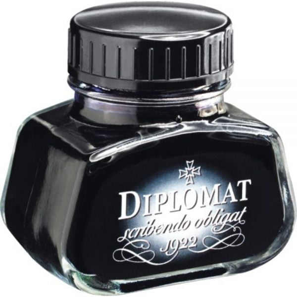 Calimara cu cerneala, 30ml, DIPLOMAT - albastru royal