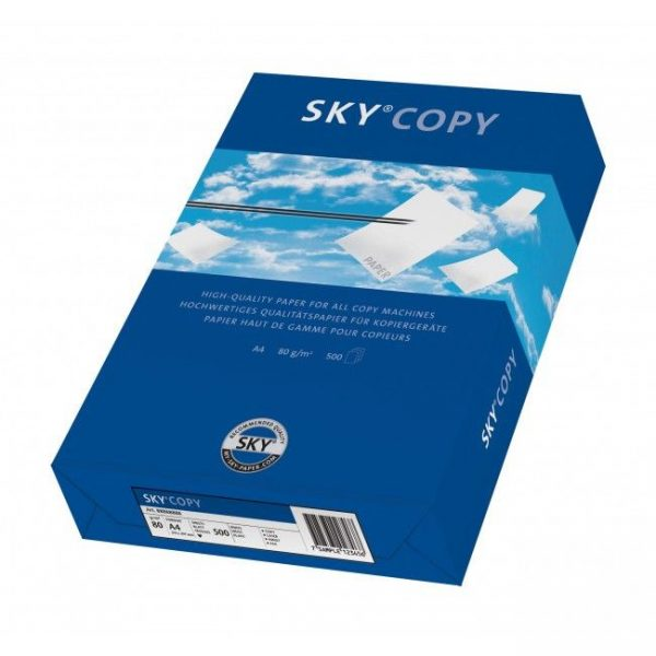 Hartie copiator A4 Sky Copy 80 g/mp, 500 coli/top