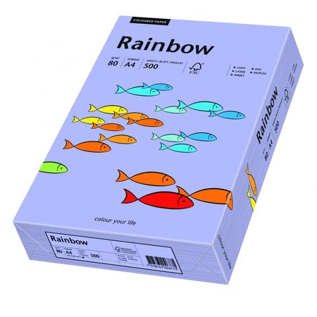Carton A4 Rainbow, 160 g/mp, 250 coli/top, violet