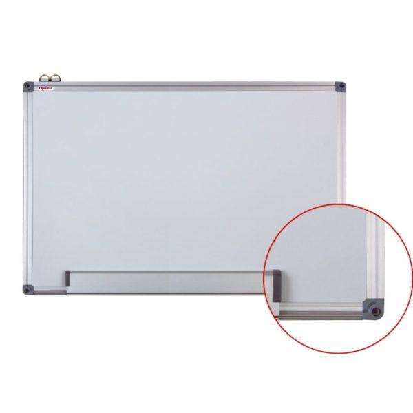 Tabla magnetica 120x240 cm,cu rama din aluminiu,Optima