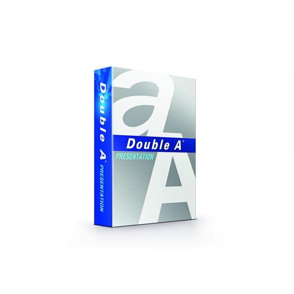 Hartie alba pentru copiator A4,100g/mp, 500coli/top, clasa A, Double A - Presentation