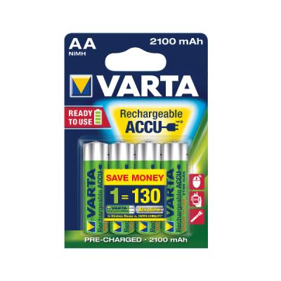 Acumulatori Varta HR6, AA, 2100 mAh, 4 bucati/set