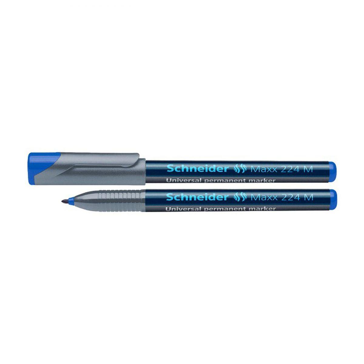Marker OHP permanent SCHNEIDER MAXX 224M, varf 1 mm