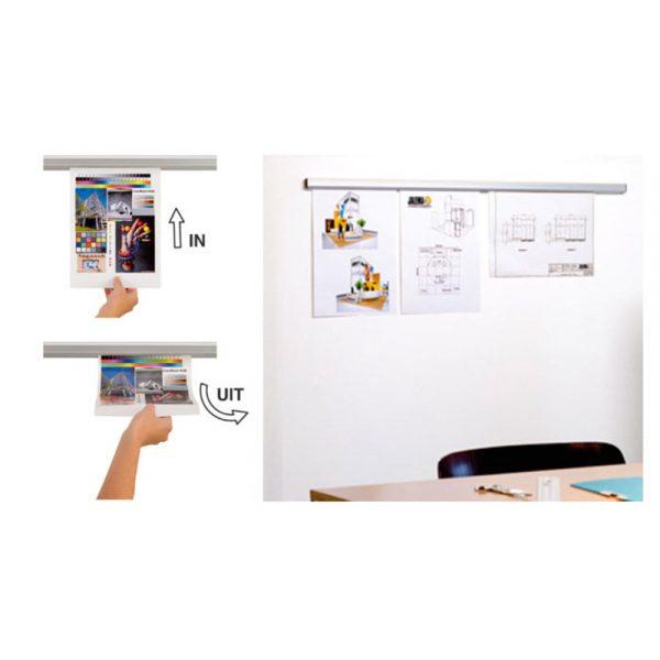 Sina pentru prindere documente, 120 cm, Jalema Grip