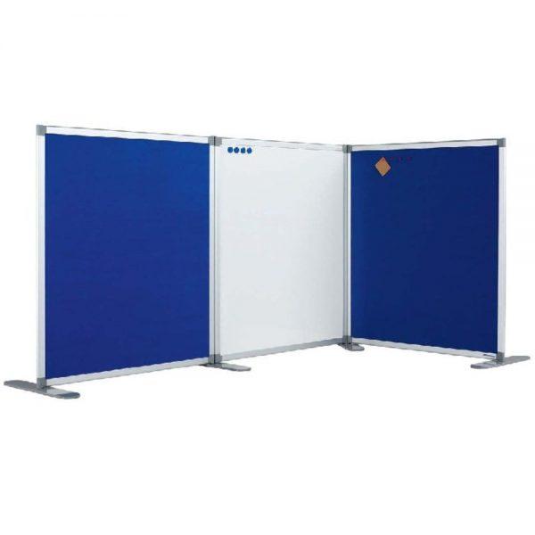 Perete despartitor cu tabla alba magnetica 180 x 120 cm, SMIT