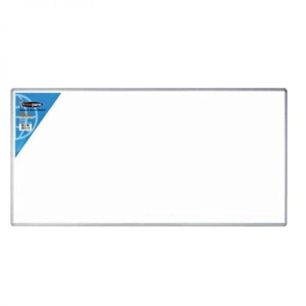 Tabla magnetica 120 x 180 cm Noki INT-605, rama aluminiu, prindere pe perete
