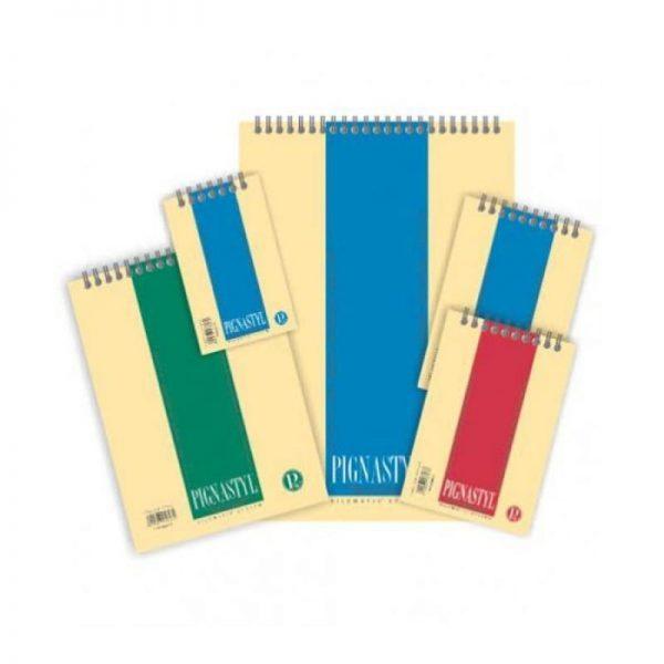 Blocnotes cu spira A6 60 file PIGNA Style