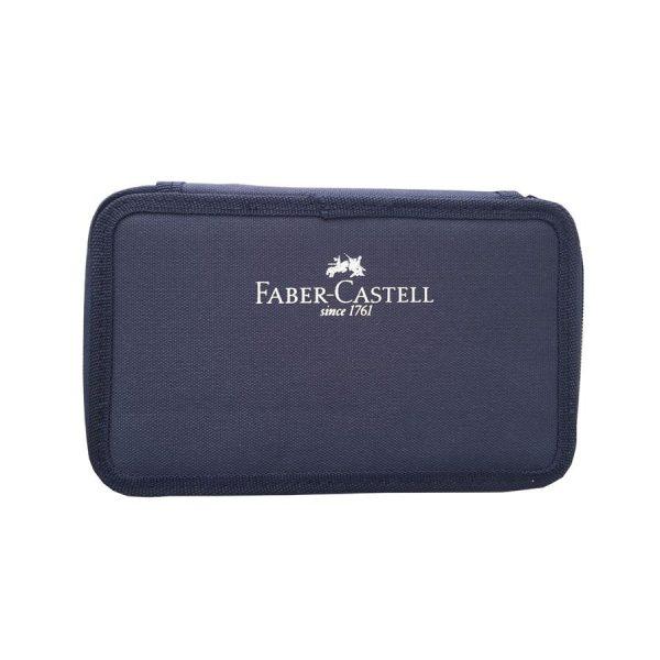 Penar echipat Faber-Castell 3 Fermoare, 46 Piese, Monocolor