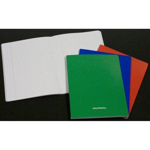 Caiet A5 36 file - 80g/mp, carton laminat, AURORA - matematica