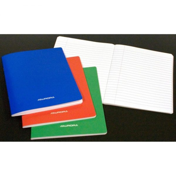 Caiet A5 60 file - 80g/mp, carton laminat, AURORA - dictando