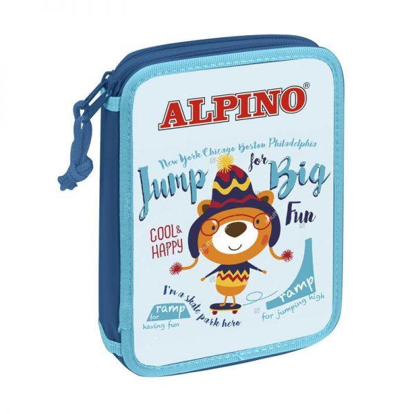 Penar dublu cu 2 fermoare, echipat, ALPINO Jump Big