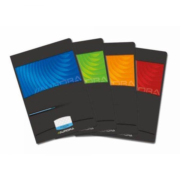 Caiet A4 36 file - 90g/mp, carton lucios, AURORA matematica