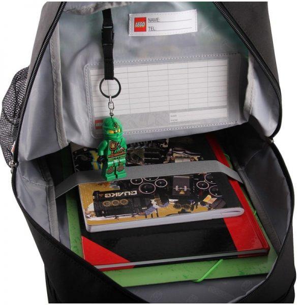 Ghiozdan scoala Belight, LEGO Core Line - design NinjaGo Energy