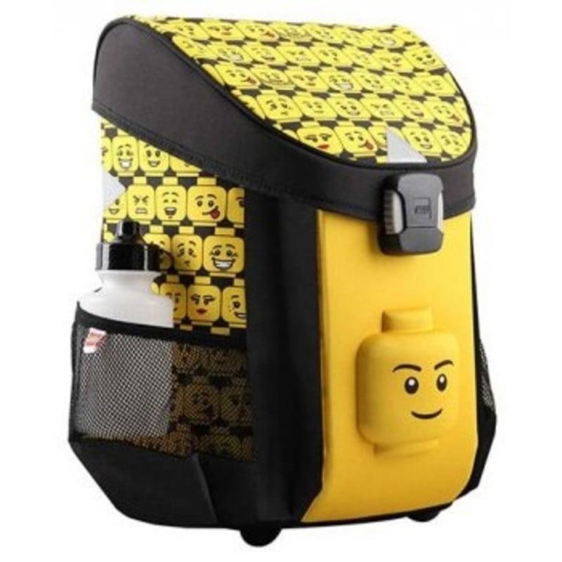 Ghiozdan scoala Easy, LEGO Core Line - design Minifigures Heads