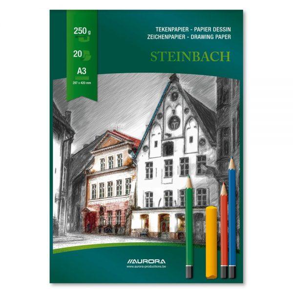 Bloc desen A3, 20 file - 250g/mp, AURORA Steinbach