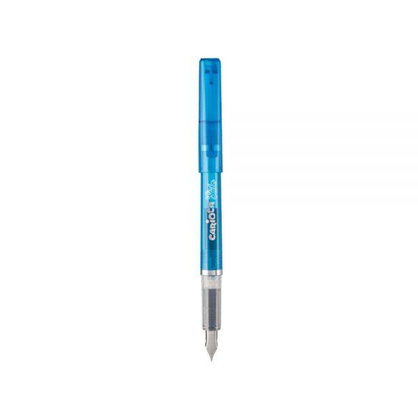 Stilou cu cartus cerneala, + 2 rezerve/blister, CARIOCA Stilo