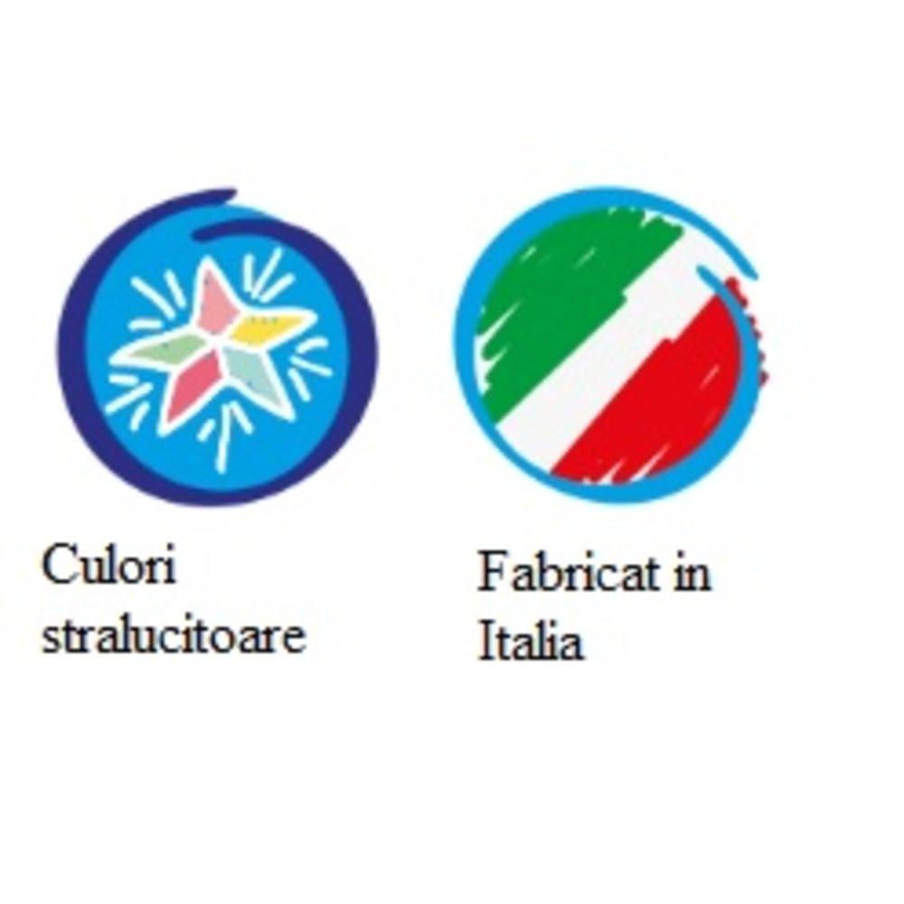 Acuarele lavabile 12 culori/cutie + 1 pensula, CARIOCA Aquarell