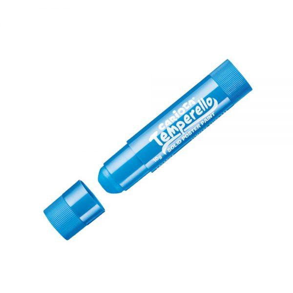 Creioane tempera metalizate, lavabile, 6 culori/cutie, CARIOCA Temperello Metallic